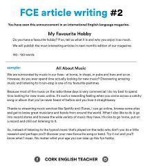 best english learning images english class  fce writing my favourite hobby