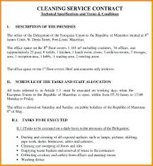cleaning services contract templates general contract for services template beadesigner co