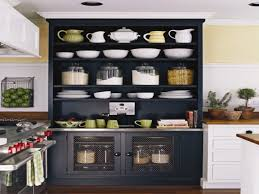 Pantry Cabinet Ideas Kitchen Bay Window Backrest Wooden Bar Stools  Stainless Steel Range Hood Dark Granite Solid Wood Pantry Cabinet E89