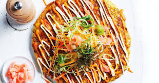 Pork and cabbage <b>Japanese</b>-<b>style</b> pancakes recipe