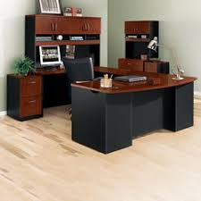 unique home office desk. Complete U-Desk Office Set With Locking Files, 14767 Unique Home Desk