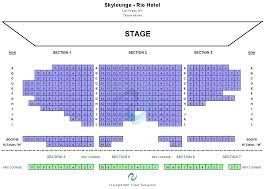 Rio Las Vegas Seating Chart Chippendales Theatre At Rio Las Vegas Tickets Chippendales