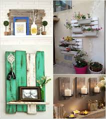 creative wall decor ideas with recycled pallets designs ways to decorate a creative ways to