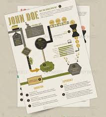 Graphic Resume Templates 20 Creative Infographic Resume Templates | Web & Graphic Design ...