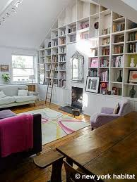 Bookshelves Living Room Inspiration Builtin Bookshelves In Vaulted Ceiling Room Perfect For If