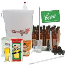 complete home brew lager beer ale cider making starter kit choice of styles