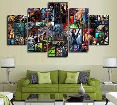 Marvel Bedroom Furniture Popular Marvel Wall Decor Buy Cheap Marvel Wall Decor Lots From