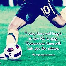 Home - Progressive Soccer : Everyone will doubt you until you achieve your  goals. Get used to it. When it co… in 2020 | Soccer motivation, Soccer  quotes, Soccer inspiration
