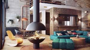 A Beautiful Duplex Residence In Minsk Featuring Loft Like Interior