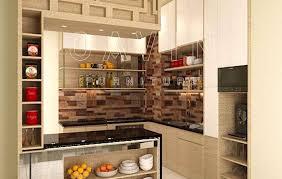 design bulid kitchen set minimalis modern dengan minibar