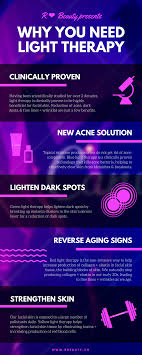 Qi Light Therapy Infographic Why You Need Light Therapy Skincare Solutions