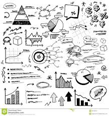 Hand Doodle Charts Stock Vector Illustration Of Info 28160307