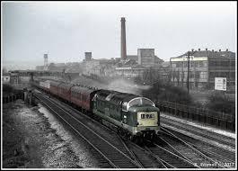 cws pelaw antique. A Deltic Diesel Hauled Train Heads Through Pelaw (Wheelman2007) Tags: Railway Cws Antique