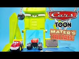 Disney pixar cars toon monster truck wrastlin' ring mater's tall ...