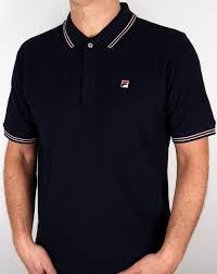 fila vintage polo. fila vintage matcho 4 polo shirt navy t