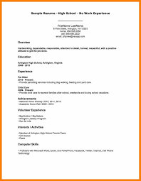 Simple Resume Sample Without Experience Svoboda2 Com 13 Janitor W