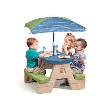 Plastic Table Chair Set Kids Patio Chairs Modern Patio