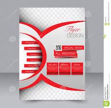 flyer template business brochure editable a poster stock vector flyer template business brochure editable a4 poster royalty stock photos