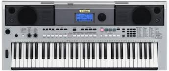 yamaha electric keyboard. yamaha psri455 digital keyboard, silver: amazon.in: musical instruments electric keyboard t