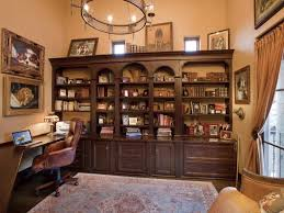 home office shelving. Nice Home Office With Built In Wood Shelving E