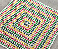 Granny Square Blanket Pattern Delectable Ravelry Solid Granny Square Blanket Pattern By Rachel Choi