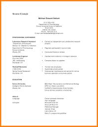Australian Cv Format Pdf Business Card And Resume
