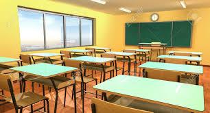 School desk in classroom Seater School Empty Classroom With Chalkboard Chairs And School Desk Stock Photo 82245967 School Furnishings Empty Classroom With Chalkboard Chairs And School Desk Stock Photo