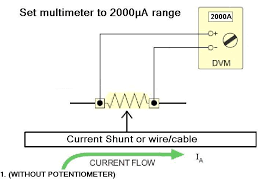 turn any dvm with a 2000µa range into a universal diy 2000 amp dc Sunbeam Tiger Ammeter Wiring-Diagram turn any dvm with a 2000µa range into a universal diy 2000 amp dc ammeter