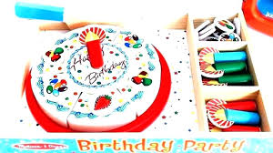 pizza melissa and doug cake mixer party cuisine toys r us birthday set wooden play food with toppings