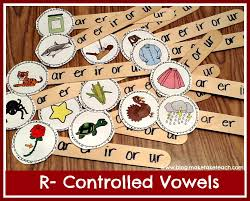 r controlled vowels make take teach