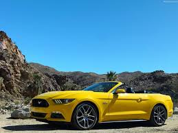 2015 ford mustang convertible. ford mustang convertible 2015 front angle