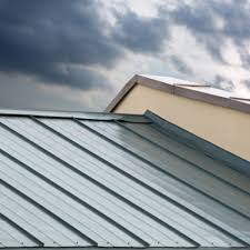 new corrugated metallic gray roof of new house roofing port st lucie52