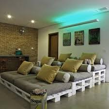 home theater seating diy