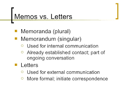 Memo Vs Letter - Koto.npand.co