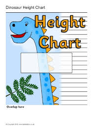 Free Printable Child Height Charts Sparklebox
