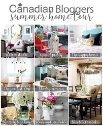 2016 summer canadian bloggers home tour
