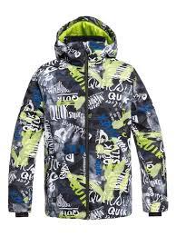 Boys 8 16 Mission Snow Jacket Eqbtj03079 Quiksilver