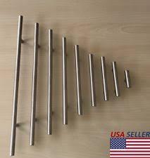 long drawer pulls. Brilliant Drawer Stainless Steel T Bar Modern Kitchen Cabinet Door Handles Drawer Pulls  Knobs Lot For Long E