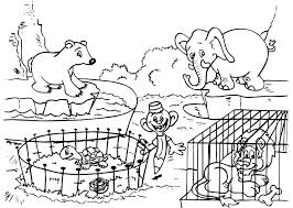 Zoo Pictures To Color Free Animal Coloring Sheets Animals Coloring