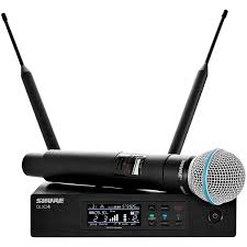 радиосистема shure qlxd24e b58 g51