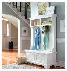 Hall Coat Rack With Storage Custom Decoration Entryway Coat Rack With Storage Metal Bench General