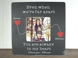 personalized picture frames for boyfriend personalized boyfriend picture frame long distance relationship gift ideas long boyfriend