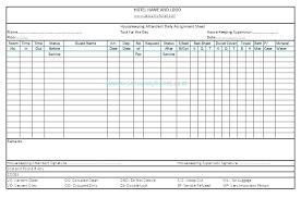 Attendant Sheet Driver Sheet Template Log Example Run