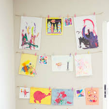 diy gallery wall from the caterpillar years give your kids their very own gallery wall to display their artwork using empty picture frames
