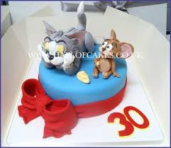 Tom And Jerry Birthday Cake Toppers Outstanding Topper Princess