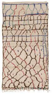 vintage moroccan rug 45293 detail large view