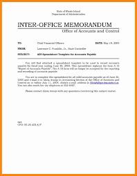 Memorandum Sample 7 Office Memorandum Sample Resume Package