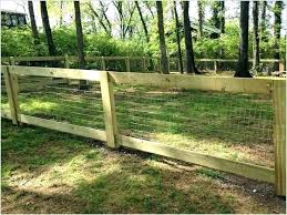Hog Wire Fence 426 Due To Its Versatile Design This Style Of Wire Is