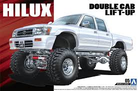 Amazon.com: 1/24 the and sedans LN107 Toyota: Hilux pick up double ...