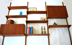 mid century wall shelf mid century wall shelf modern standing within decorations